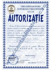 Autorizatie CECCAR A 007212
